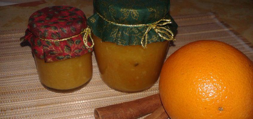 Gyors karácsonyi narancslekvár
