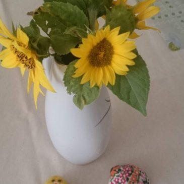 Kézzel festett kagylók….. asztali díszek