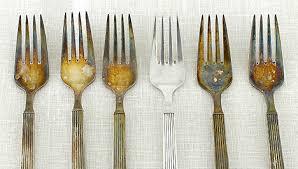 Az ezüst tárgyak tisztítása vegyszer nélkül