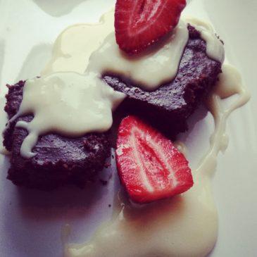 Csokis brownie laktóz- és gluténmentesen