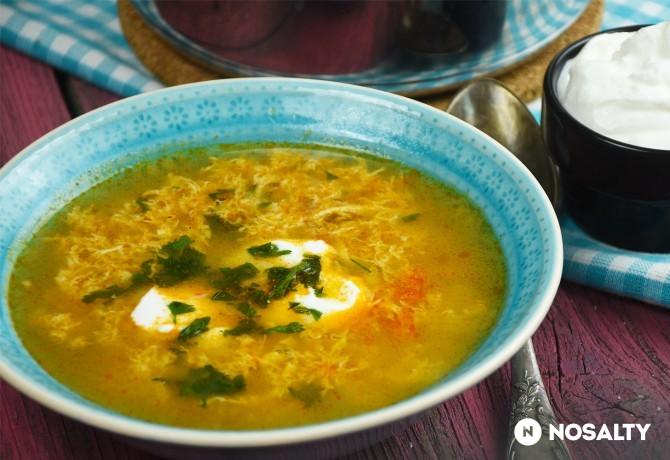 Rántott leves, avagy az igazi csurgatott tojásleves