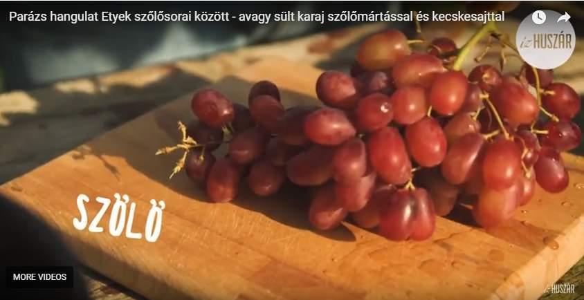 Sült karaj szőlős mártással, de most egy kicsit másképp…..:)