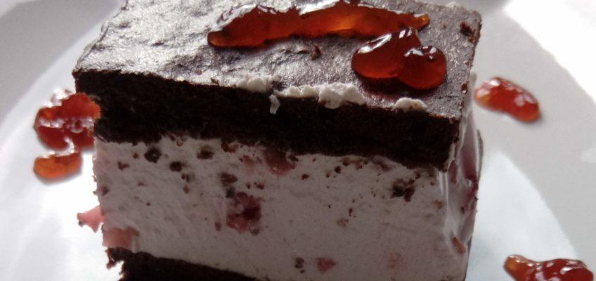 Csokis paleopiskóta gyümölcskrémmel