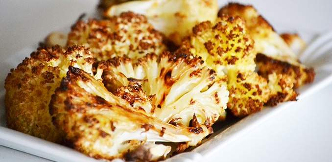 Sült karfiol – a legjobb, ami a karfiolvirággal történhet
