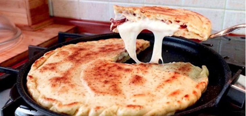 Töltött pizza, vagy lepény