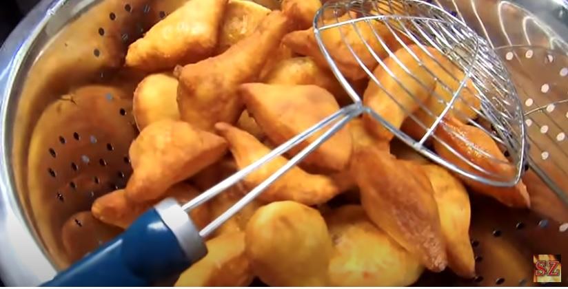 Fűszeres krumplis fánk